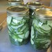 Home made dill pickles.