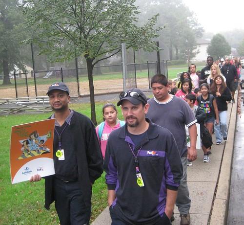 Safe Kids Middlesex County Walk To School Day in Dunellen   by SafeKidsNJ
