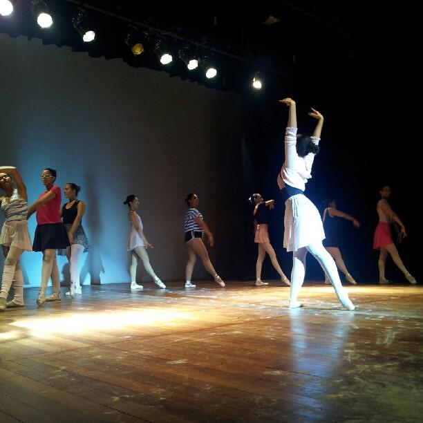 Angels - Ensaio - Ballet