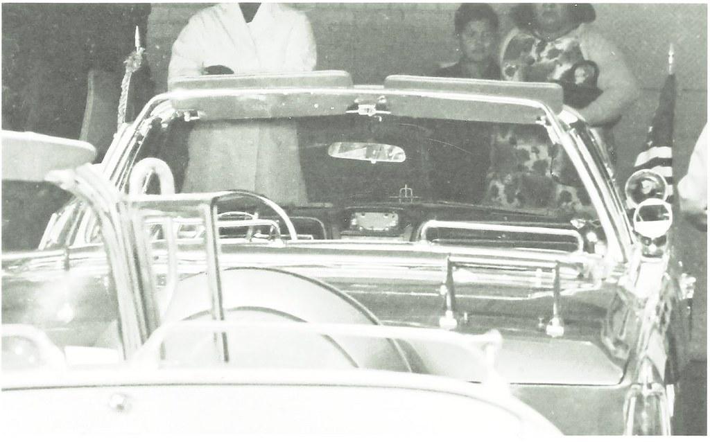 JFK Assassination - Limo Outside Parkland Bullet Hole | Flickr