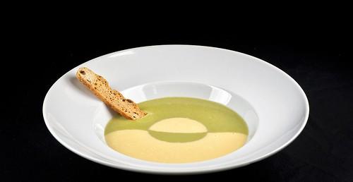 5 Crema de berros y millo (2) | by La Gañanía Finca & Catering, Tenerife