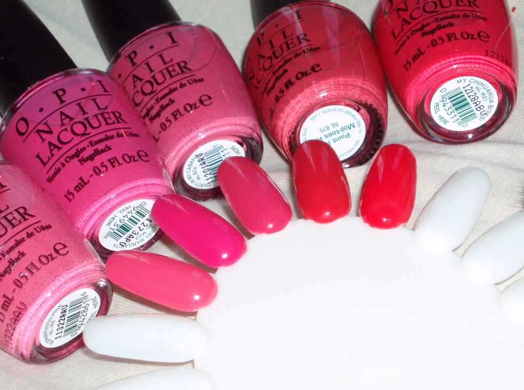 Opi Pinks Elephantastic Pink Strawberry Margarita Party Flickr
