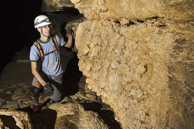 Dripstone, Jesse Austen, Lost Creek Cave, White County, Tennessee