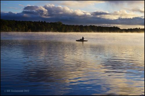 mist reflection clouds sunrise boat fishing pentax michigan k5 bestofweek1 bestofweek2 bestofweek3 bestofweek4 lakecadillac 0912sh8