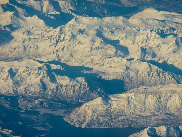Alaskan landscape on the way to Maui