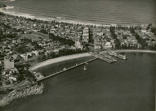 Aerial view of Manly (NSW) | by NSW State Archives and Records