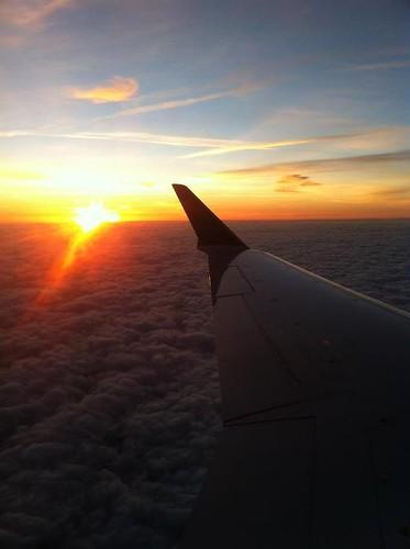 Sunrise, heading south!