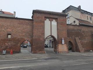 Brama Żeglarska i mury miejskie, Toruń