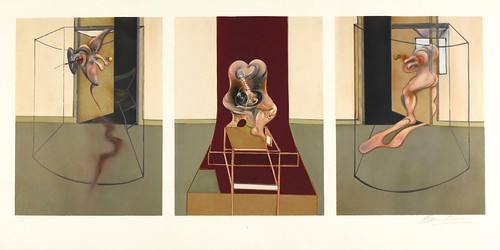 [ B ] Francis Bacon - Triptych inspired by Oresteia of Aeschylus (1981)