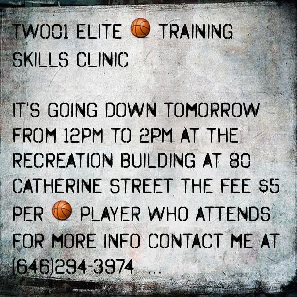 (Made With #Tweegram App) Two01 Elite Training Clinic Laun
