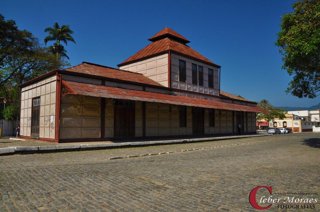 Estação Ferroviária - Bananal - SP - Brasil
