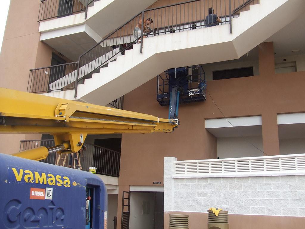 Rehabilitación de falsos techo de placas de cemento.