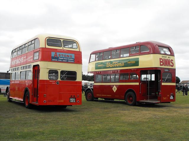 13, GR 9007, Crossley & L453, NEH 453, Leyland Titan (t.2012)