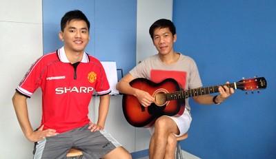 Private guitar lessons Singapore Alson