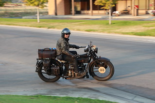 Vintage Motorcycle CannonBall Run | by John Funk from Golden Colorado