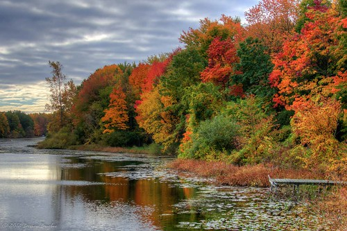 autumn red lake fall water colors mi river falling trail waters concord hdr kalamzoo mygearandme mygearandmepremium mygearandmebronze mygearandmesilver