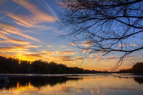 blue autumn sunset sky fall home minnesota river mississippi rapids sauk matchpointwinner thechallengefactory mpt210 frozenimagephotography