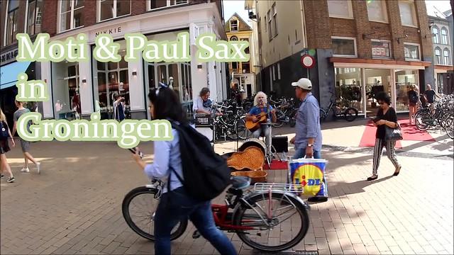 Paul Sax & Moti,Groningen stad ,the Netherlands,Europe