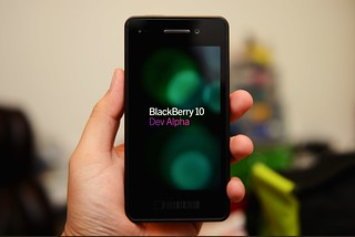 BlackBerry 10 Dev Alpha | by closari