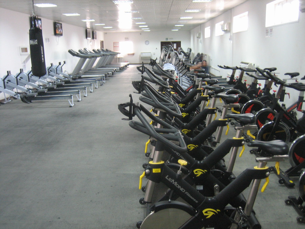 Cardio room of the north camp gym this place was the centeu flickr