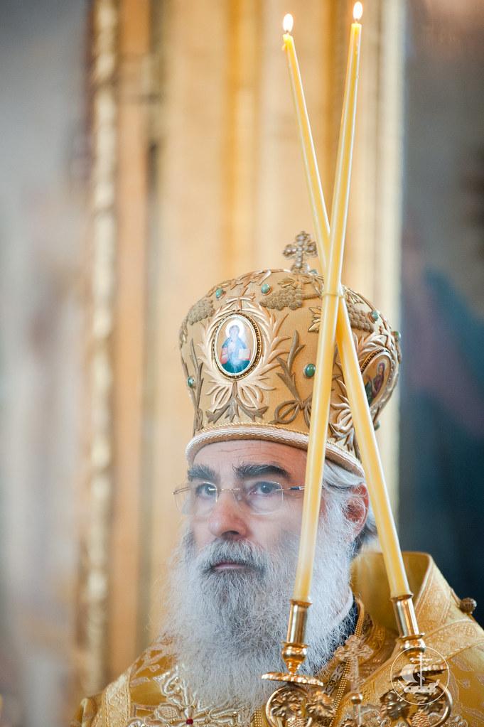 16 сентября 2012, Божественная Литургия в Неделю 15-ю по Пятидесятнице