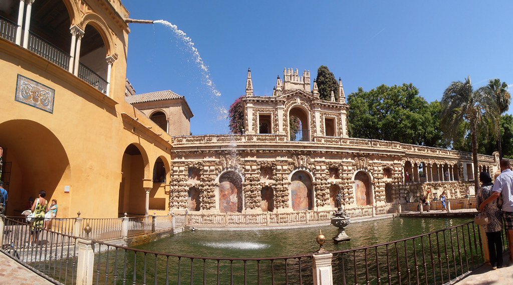 Sevilla - Jardines Reales Alcazares