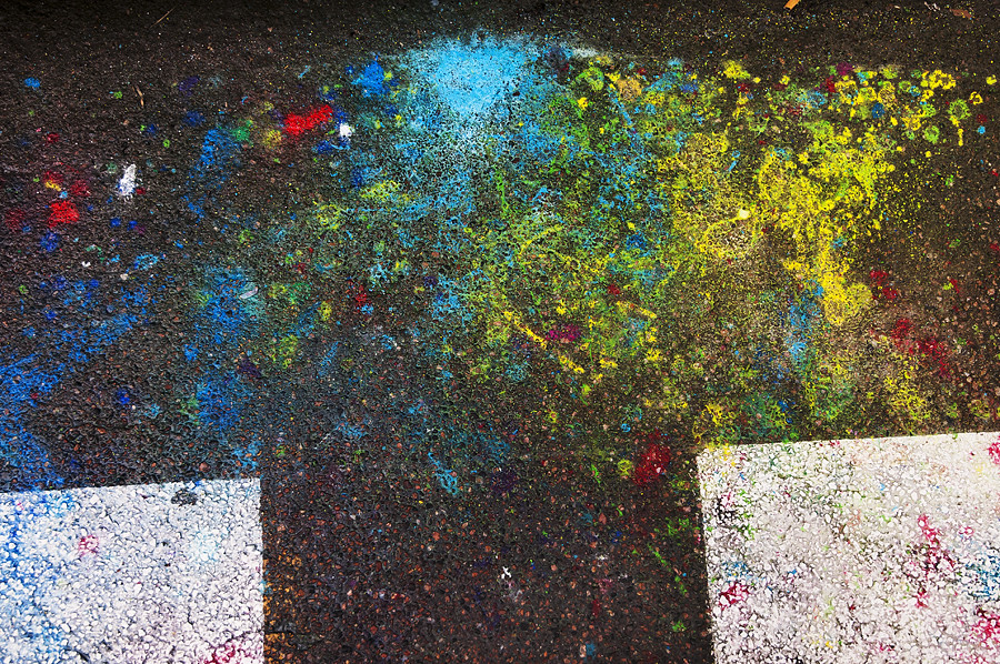 Paint On Pavement | Pekka Nikrus | Flickr