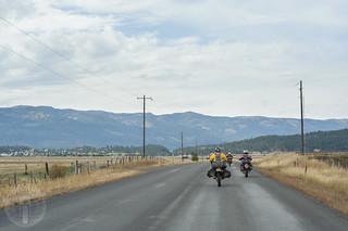 Approaching Cascade, Idaho