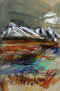Iceland sketches | by Laura Frankstone
