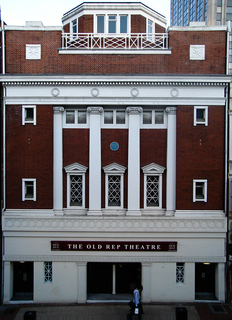 The Old Rep Theatre, Station Street Birmingham.(Architect S.N. Cooke 1913)