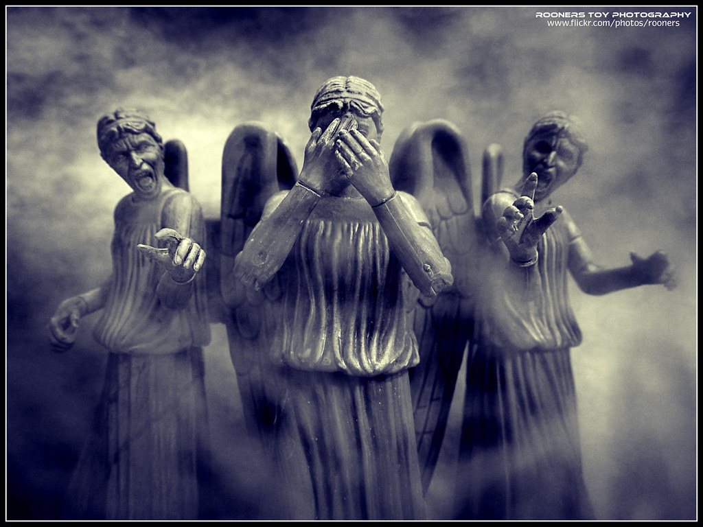 The Weeping Angels - The Stealth Force