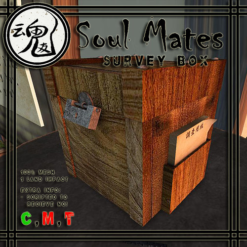 [Soul Mates] Survey Box Ad