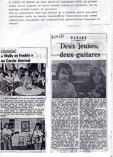 W&F - Le 1er article de presse | by lewally12