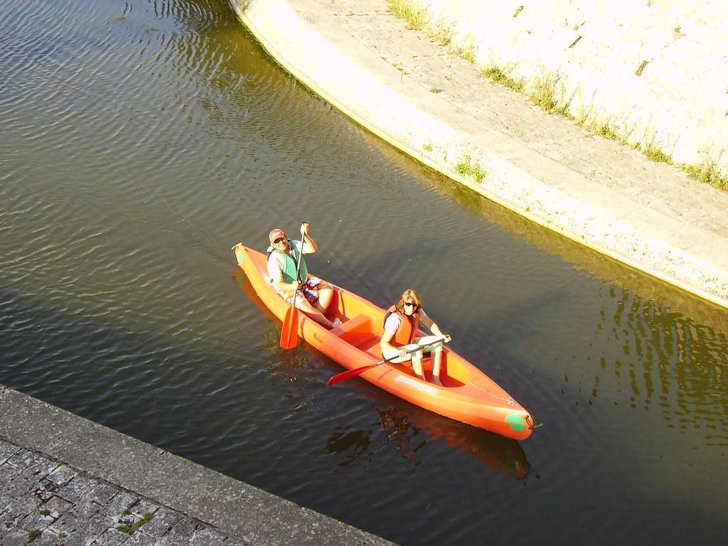 Canotage à Briare