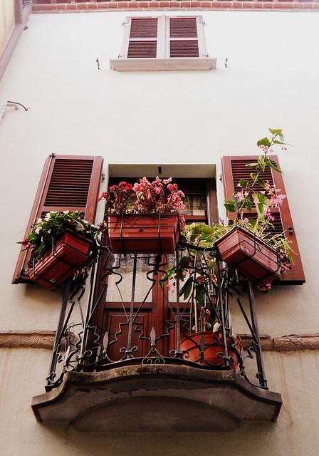 balcone fiorito