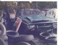 RENAULT 15,lakeside garage helston 1986.
