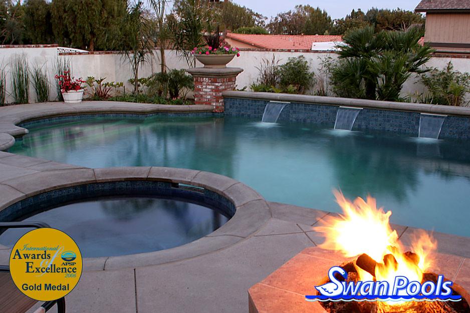 Classic Grecian Villa   Swan Pools Swimming Pool Design ...
