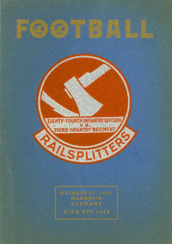 1945-10-27-Football Program-84th Infantry Division Railsplitters-01