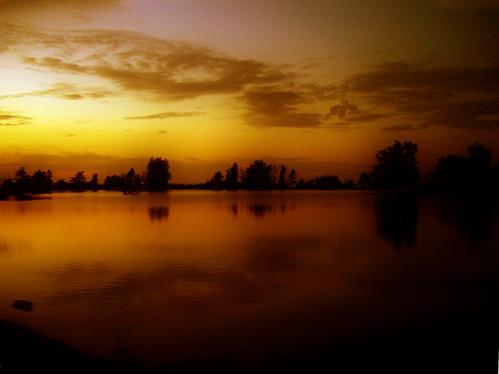 sunset sea holland netherlands dutch nederland ijsselmeer westfriesland onderdijk vooroever