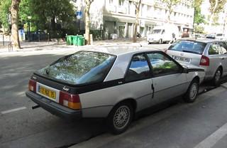 1985 Renault Fuego Turbo