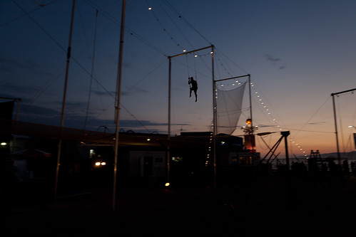Trapeze at Sunset