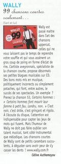 Chronique 99CC Francofans - JUIN11 | by lewally12