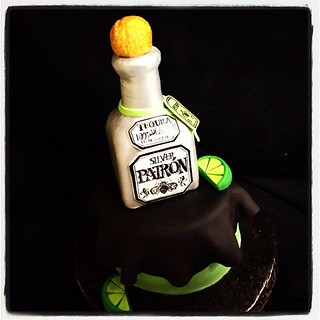 #patron bottle #30th #21st #good times #fondant #cake | by Royalty_Cakes