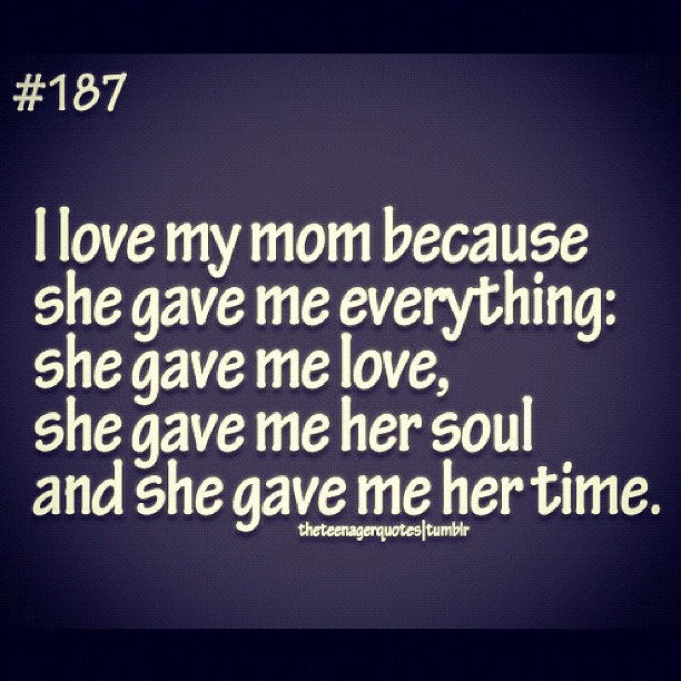 I love my mom! #mom #quotes #love #respect #mother #mama #… | Flickr
