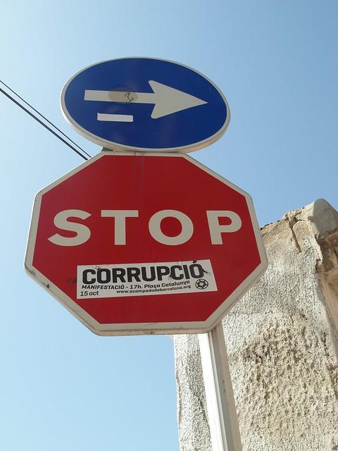 Stop corruption