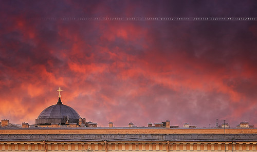 city roof sunset church architecture photoshop raw nef cityscape view russia perspective saintpetersburg hdr handled санктпетербург photomatixpro nikoncapturenx nikond300 capturenx2 nikkor50mmf14g yllogo ©yannicklefevre||photography