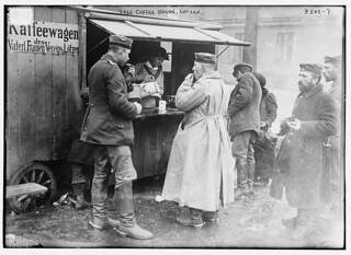 Free coffee wagon, Lotzen  (LOC) | by The Library of Congress