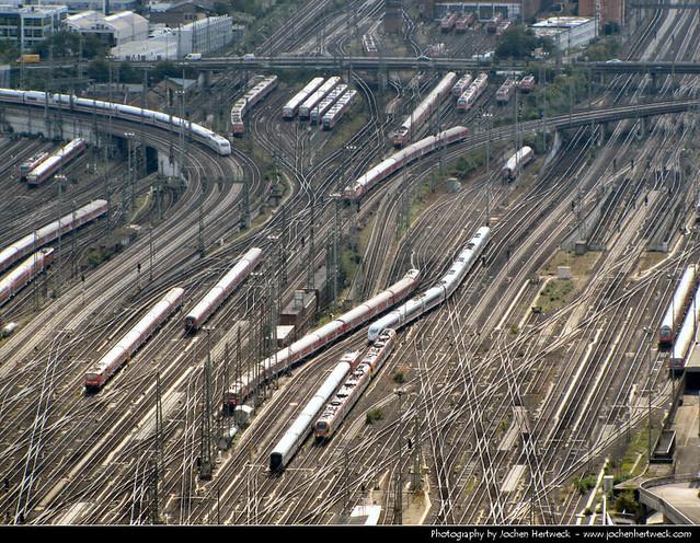 Rail Maze, Frankfurt, Germany