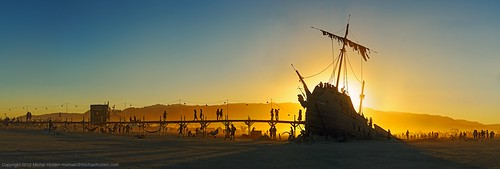 "Shipwrecked: ""La Llorona"" and ""Pier 2"" at sunset 