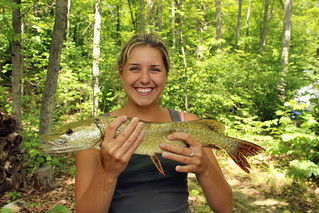 201107261304144 Emily with Northern Pike | by pverdonk